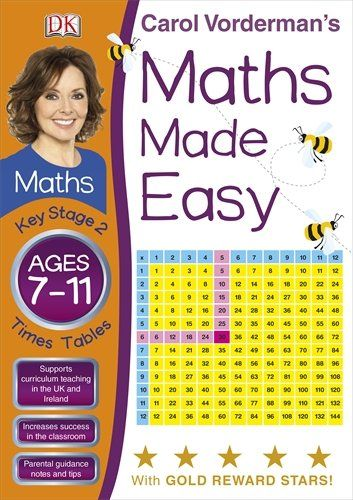 Romeo stocking  Maths Made Easy Times Tables Ages 7-11 Key Stage 2 (Carol Vorderman's Maths Made Easy) by Carol Vorderman http://www.amazon.co.uk/dp/1405363428/ref=cm_sw_r_pi_dp_X79zub0A8T5GW