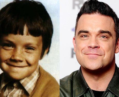 It's Robbie Williams' Baby Picture