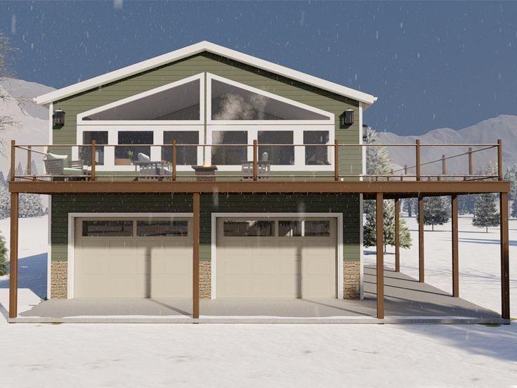 065g 0023 Carriage House Plan Carriage House Plans Large Garage Plans Garage Apartment Floor Plans