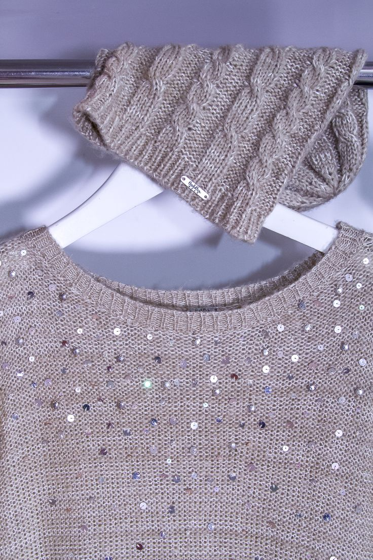 With long sleeves and a wide neckline the 'Avery' #Knit is stylish and comfortable. The sequin detailing adds a minimalistic chic look to your outfit. This knit has effortless style and is perfect for those cooler nights. Available in 3 different colours and perfect for your winter wardrobe   $119.90 AUD.  #buddhawear #ethicalfashion #womenswear