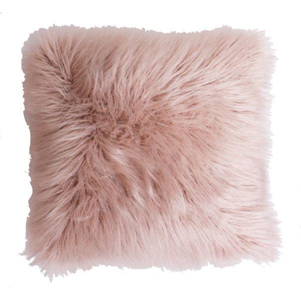 Found it at Wayfair - Keller Faux Mongolian Fur Throw Pillow