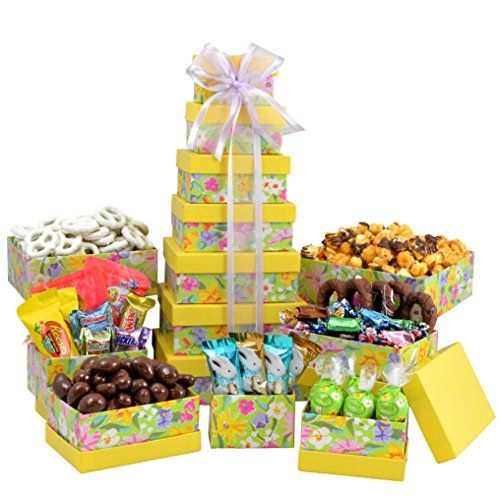 99 best images about easter gift on pinterest easter gift broadway basketeers easter gift basket gourmet chocolate easter treasures gift basket tower assortment springtime easter gift negle Image collections