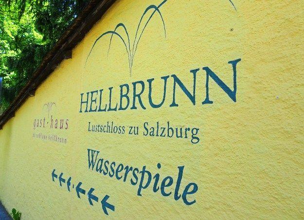 Hellbrunn and the Wasserspiele at Salzburg in Austria | EatExploreEtc.com