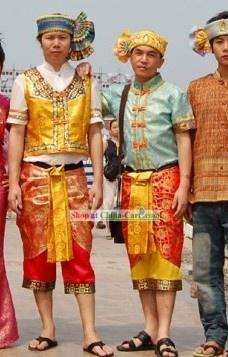 Thailand National Costume Complete Set for Men