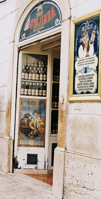Cafe Ginjinha- stop in after eloping while taking photos in Rossio Square Lisbon