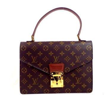 Louis Vuitton Concorde Brown Bag - Satchel