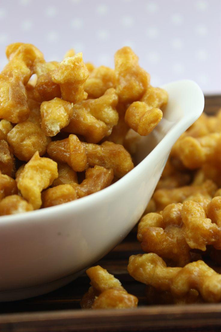 Caramel Popcorn Twists | BS' in the Kitchen