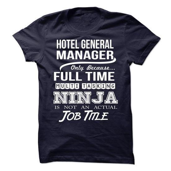 HOTEL-GENERAL-MANAGER - Job title - #womens hoodies #t shirt companies. GET => https://www.sunfrog.com/No-Category/HOTEL-GENERAL-MANAGER--Job-title.html?60505