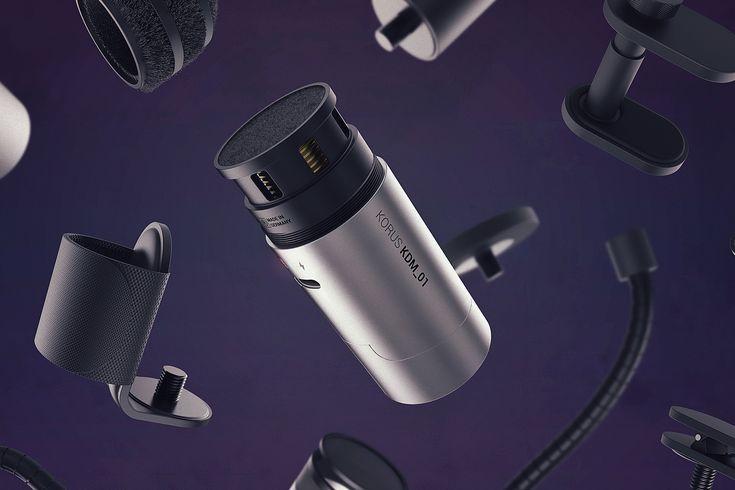 KORUS ∙ Wireless Modular Microphone Concept on Behance