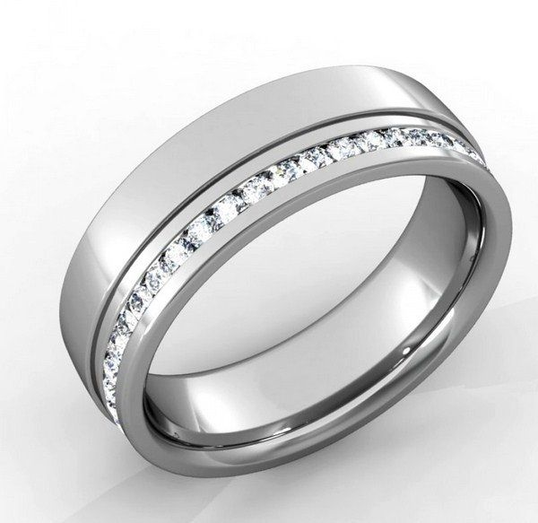 design your own mens wedding band online