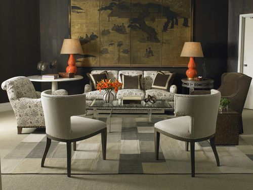 17 Best images about Sherrill Furniture on Pinterest : Traditional sofa, Chairs and Oval dining ...