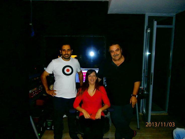 with Christoforos Germenis @ Βασιλης Γιαννοπουλος