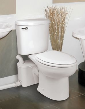 High Quality Wednesday Product Feature: Ascent II Macerating Toilet System Want That New  Bathroom In The Basement