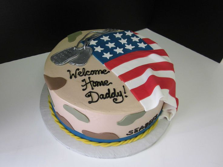 Marvelous Welcome Home Cake