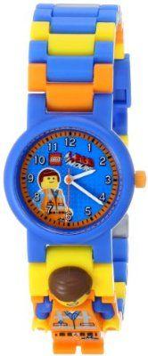 LEGO Kids' 8020219 Emmet Watch with Minifigure Link
