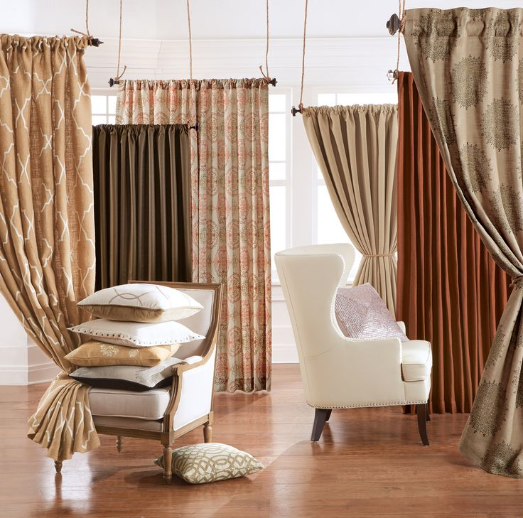 Make Your Fall View More Appealing With Curtains In Warm