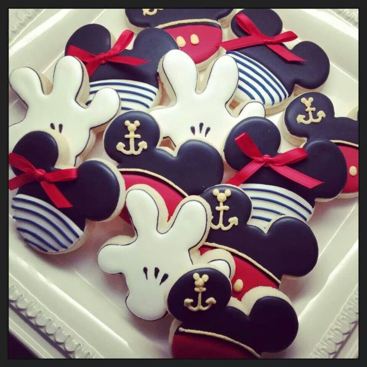 Disney Cruise Cookies