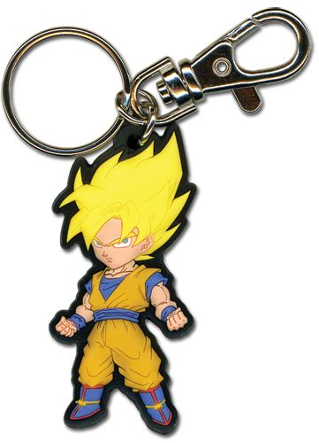 Bad ass Super Saiyan Goku key chain.