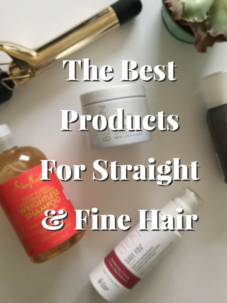 Middle of Somewhere: The Best Hair Products For Straight & Fine Hair That I Can't Live Without