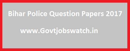Bihar Police Question Papers, CSBC Constable Model Paper 2017 Download, CSBC Bihar Police Last Year Question Papers, CSBC Police Previous Year Solved Papers