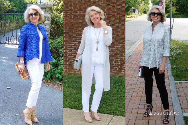 Часто та мода, которую пропагандируют на подиумах ориентирована на молодых. Но значит ли это, что нельзя выглядеть стильно если вам за 50 лет? Конечно же. нет! Стоит лишь научиться адаптировать модные тренды под свой возраст. и фото модных блогеров в этой статье. которым за 40, 50 и 60 лет убедят вас, что стиль не только не подвластен возрасту, а скорее даже становится еще интереснее у женщин в возрасте за 40, 50, 60 лет..