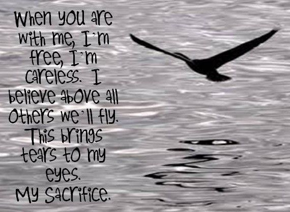 My sacrifice, Creed lyrics
