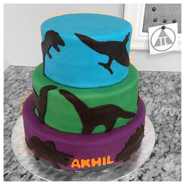 Birthday Dinosaur Cake