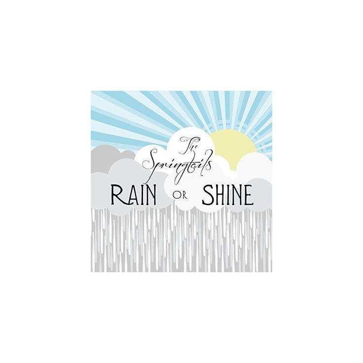 Springtails - Rain or Shine (CD)