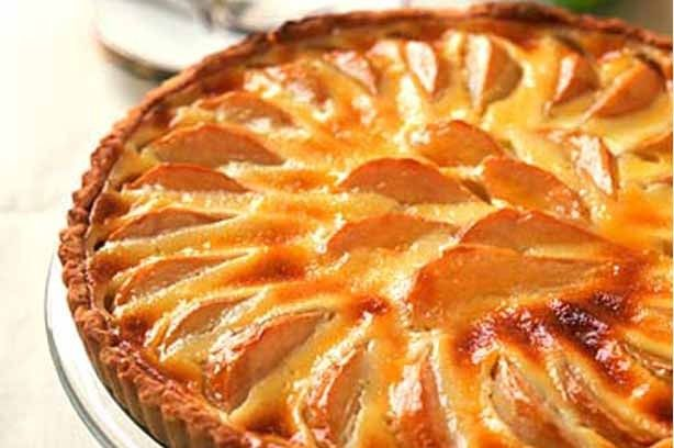 Pear tart - Bakes inspired by The Great British Bake Off
