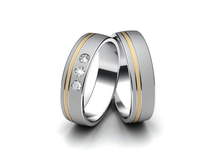 Snubní prsteny A2028  #aiola #wedding #rings