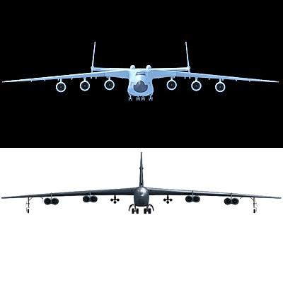 Antonov + B52 Bomber