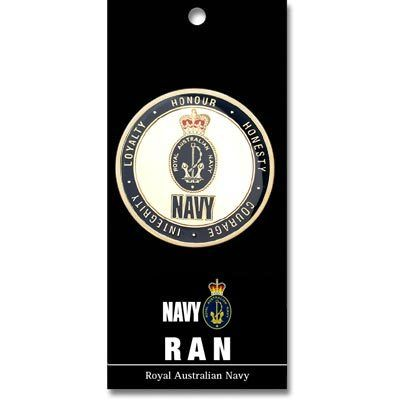 Defence Gifts - NAVY  Medallion 48mm, $9.90 (http://www.defencegifts.com.au/navy-medallion-48mm/)