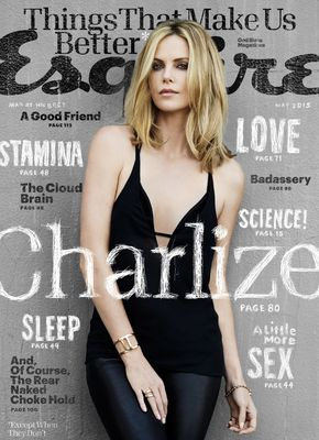 Charlize Theron Is Esquire's Newest Cover Star  - Esquire.com
