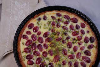 Eerst Koken: Franse taart met druiven en pistache