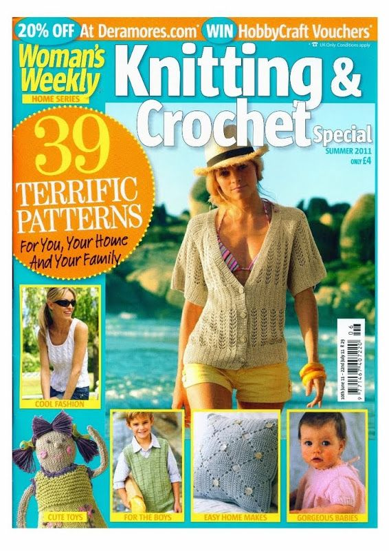 Woman's Weekly – Knitting and Crochet Summer 2011