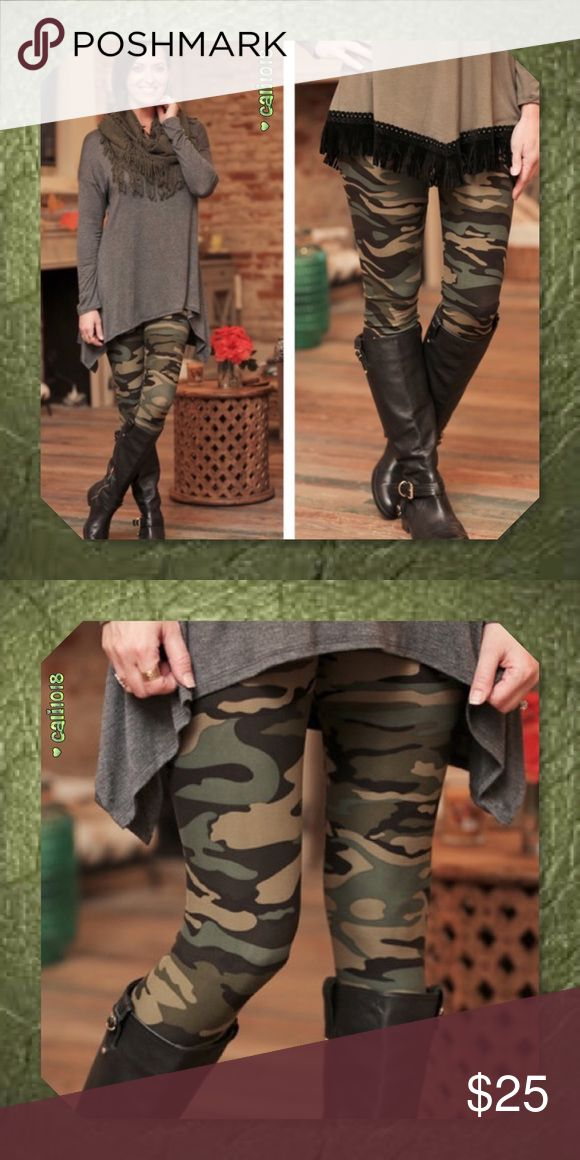 JUST IN🆕Super Soft Camo Leggings One Size New Super Soft Camouflage Leggings  Color: Camo Size: One Size  💠💠PRICE FIRM UNLESS BUNDLED💠💠 ⭐️⭐️SORRY NO TRADES AND LOWBALL OFFERS WILL BE IGNORED ⭐️⭐️ 🌺🌺ADDITIONAL MEASUREMENTS AVAIL UPON REQUEST 🌺🌺 Glam Squad 2 You Pants Leggings