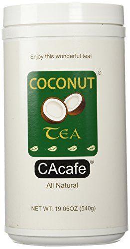 Cacafes Coconut Tea in Jar