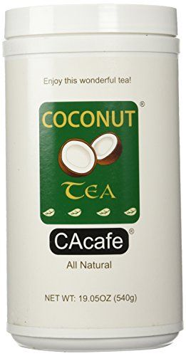 Cacafes Coconut Tea in Jar