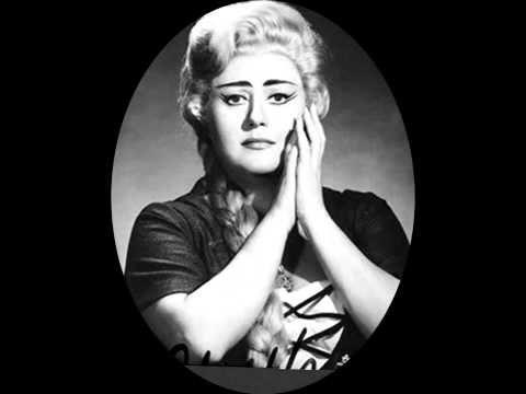Gounod: Il était un roi de Thulé (Faust) - Régine Crespin - YouTube