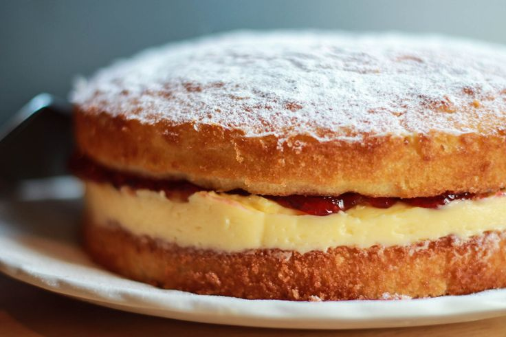 Victoria Sponge Cake - with butter cream filling