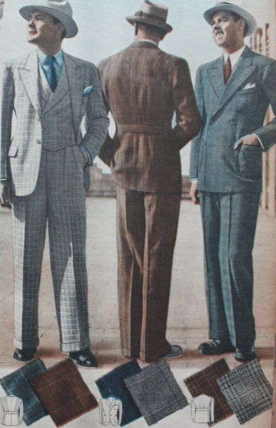 1937 Men's Suits for Spring