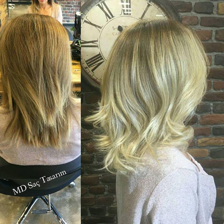 💕💕💕 #balyaj #balyajmodelleri #izmir #mdsactasarim #izmir #kuaför #hairartistry #hairstyle #haircolors #forwomen #haircolor #instahair #blonde #efsanesaclar #hairlove #sac #instagram #krepebalyaj #lovehair #me #kuaförde #styleartists #photography #photooftheday #renklendirme #makeup #exclusivesalon #hairdesign @mdmetindemir