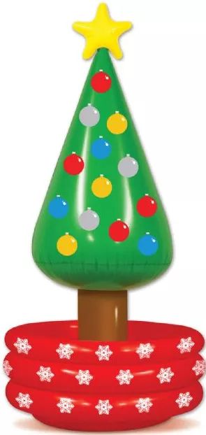 #christmas #cooler #inflatable #tree