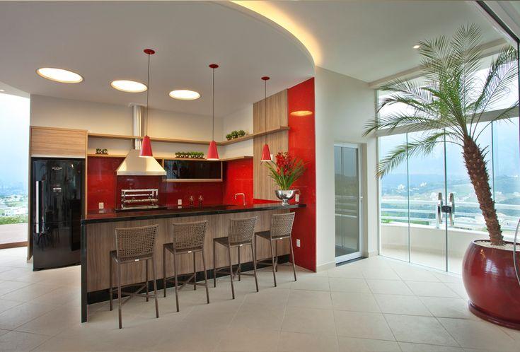 15 Áreas de churrasco contemporâneas integradas à cozinha! Veja modelos lindos e dicas!