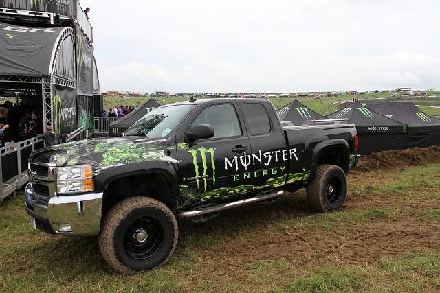 Chevrolet Monster Energy Drink Truck Trucksss