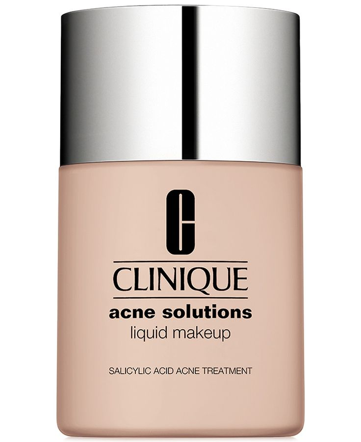 Clinique Acne Solutions Liquid Makeup Foundation, 1 oz - Skin Care - Beauty - Macy's