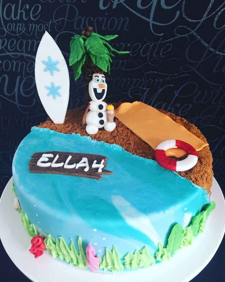 Olaf, frozencake