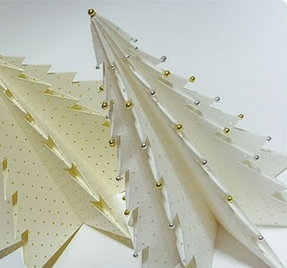 origami xmas tree instructions