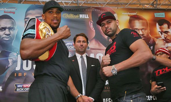 Anthony Joshua v Eric Molina: Undercard start time TV details and more