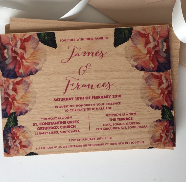 A beautiful floral design printed on wood..yes we actually print on wood. Beautiful....